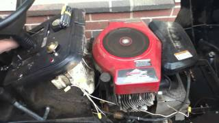 1999 Murry twin 20 HP Lawn Tractor Cold Start