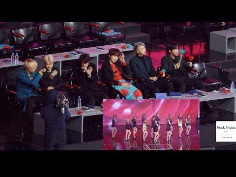 방탄소년단(BTS) React to IZ*ONE (아이즈원) O' MY! + 라비앙로즈 [4K 직캠]@190106