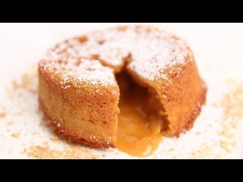 Molten Butterscotch Lava Cake Recipe - Laura Vitale - Laura in the Kitchen Episode 675