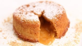 Molten Butterscotch Lava Cake Recipe - Laura Vitale - Laura in the Kitchen Episode 675