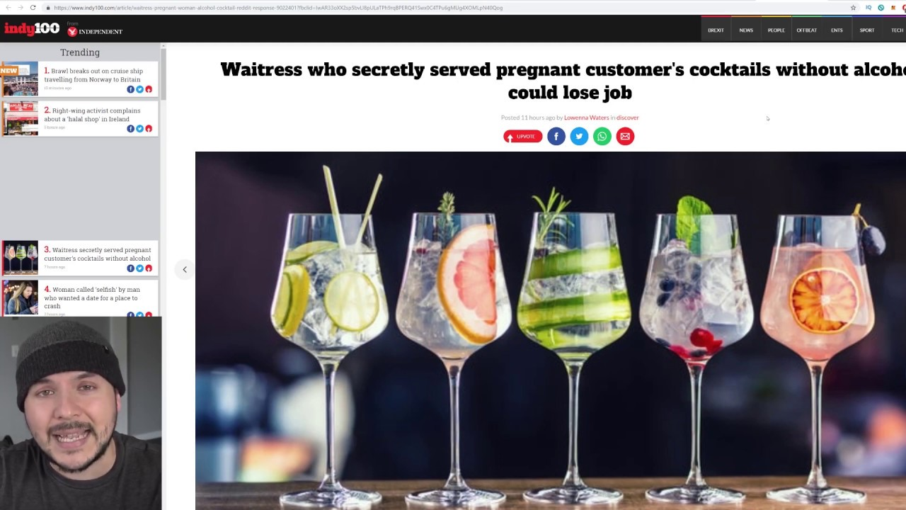 Should A Bar Be Forced By The Government To Give A Pregnant Woman Alcohol?