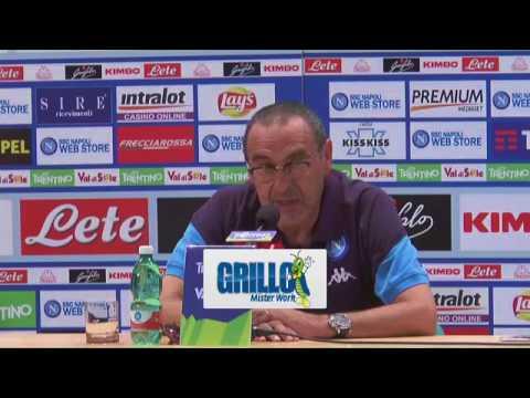 Dimaro 2017, la conferenza stampa integrale di Maurizio Sarri (23-07-2017)