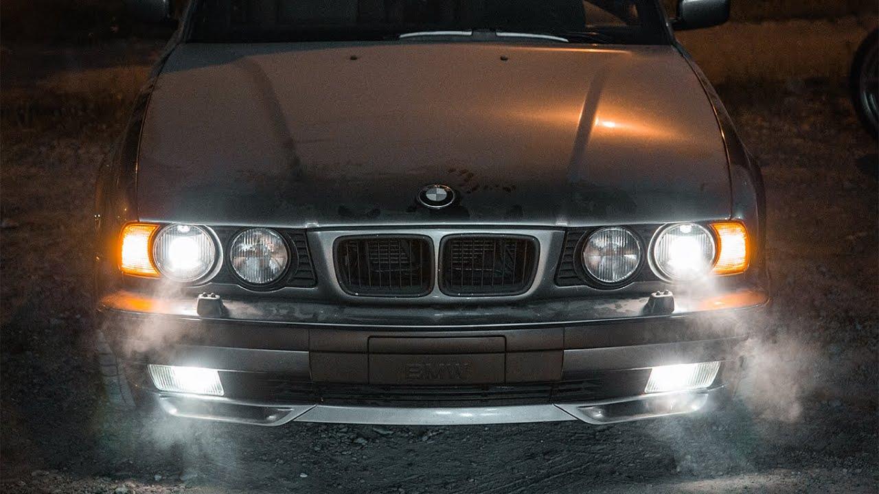 """BMW 540i E34 """"MONZA"""" - Варим новый выхлоп! Звук Бомба! Машина выехала!"""