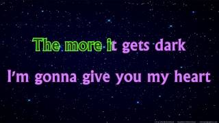 karaoke coldplay a sky full of stars instrumental with lyrics singalong