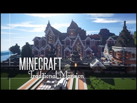 Minecraft Build Review - Amazing Traditional Mansion