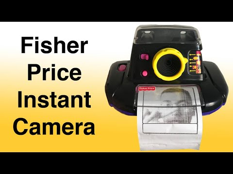 Fisher Price Creative Effects Instant Camera