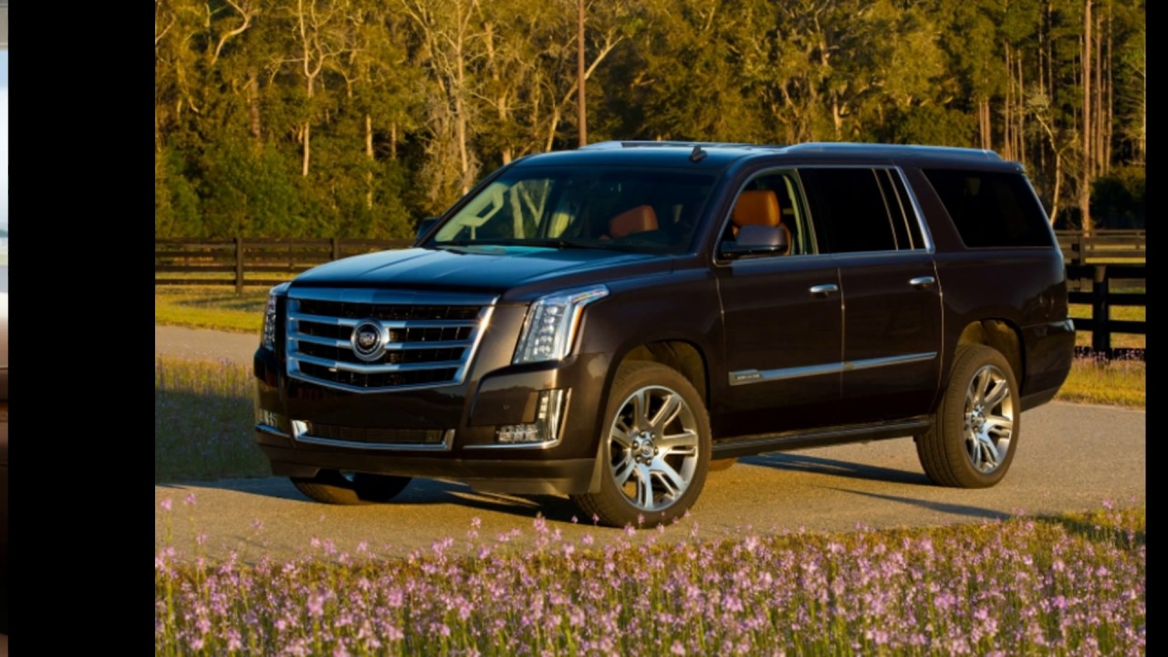 the 2018 all new cadillac escalade platinum esv suv youtube. Black Bedroom Furniture Sets. Home Design Ideas