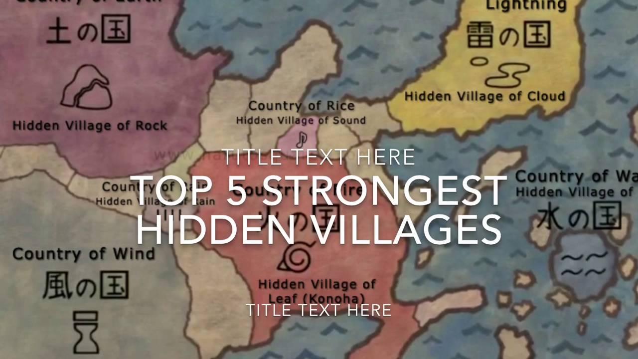 TOP 5 Strongest Hidden Villages