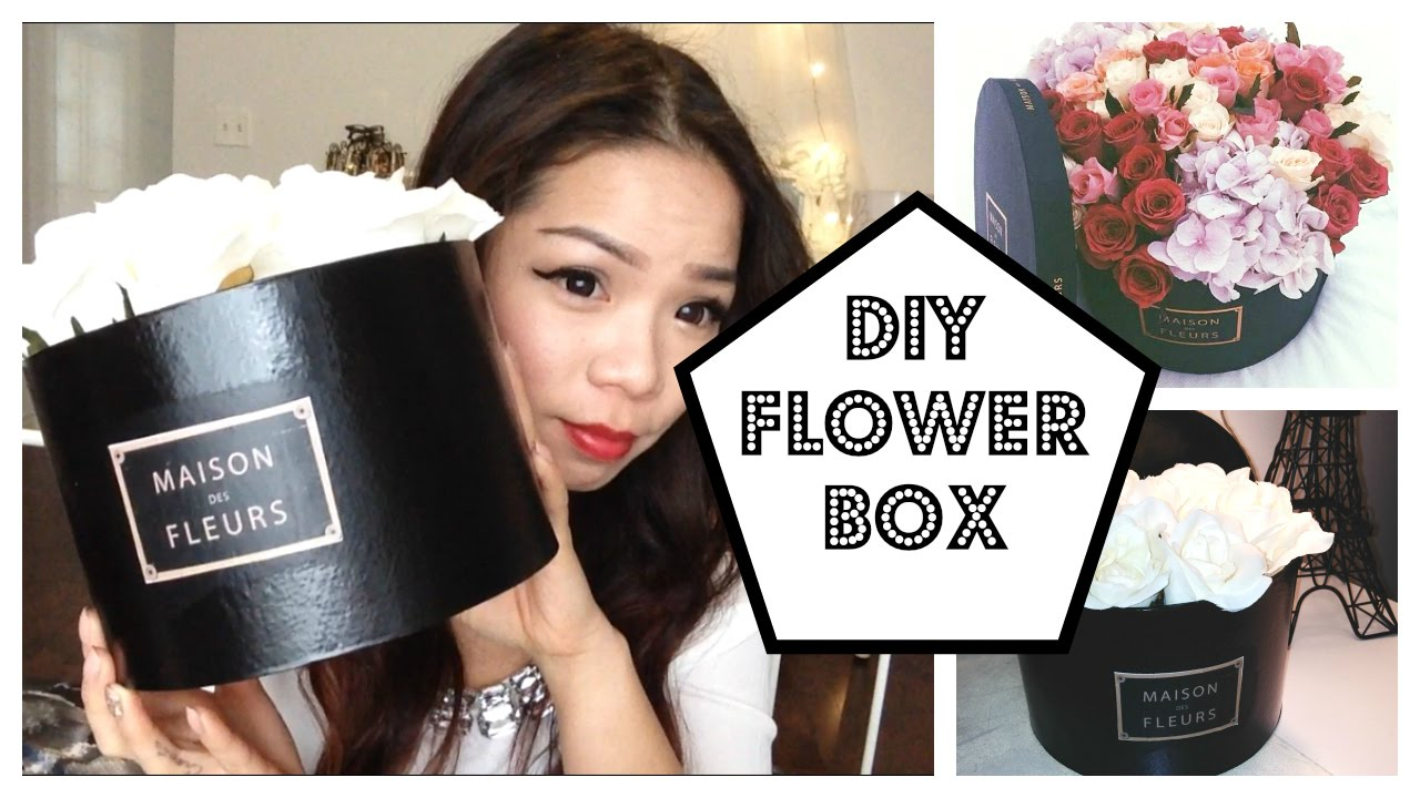 diy maison des fleurs box youtube. Black Bedroom Furniture Sets. Home Design Ideas