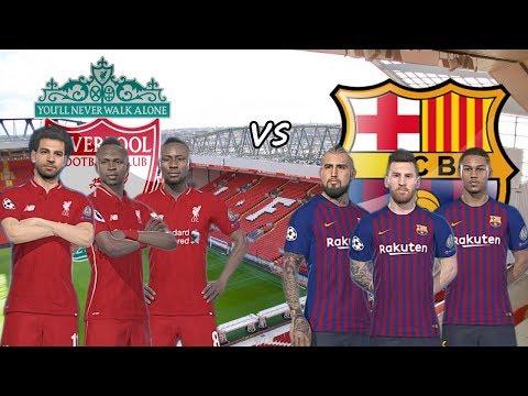 Liverpool 2019 vs Barcelona ( Champions League La Liga Spain ) | Gameplays PC