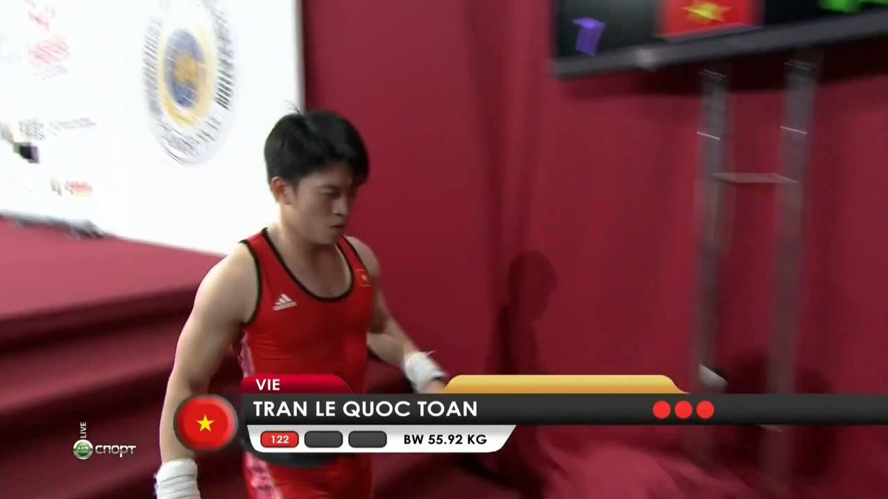 TRAN Le Quoc Toan 1s 122 kg cat. 56 World Weightlifting Championship 2013