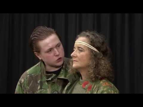 Agamemnon and Clytemnestra (Jane Lumley's Iphigenia)