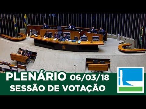 PLENÁRIO - Sessão Deliberativa - 06/03/2018 - 14:00