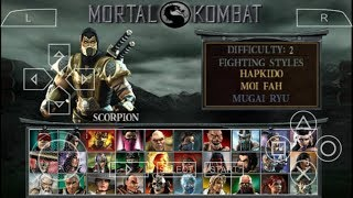 Cara Download Game Mortal Kombat Unchained PPSSPP Android
