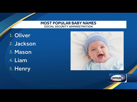 McCabe - These Are the Two Most Popular Baby Names in NH