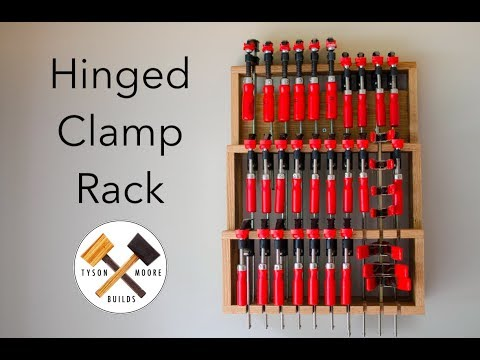 Making a Hinged Clamp Rack   Tyson Moore