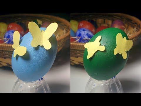 Decorare uova di pasqua con farfalle 3d youtube - Decorare uova di pasqua ...