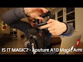 IS IT MAGIC? - The Aputure A10 Articulating Magic Arm story...