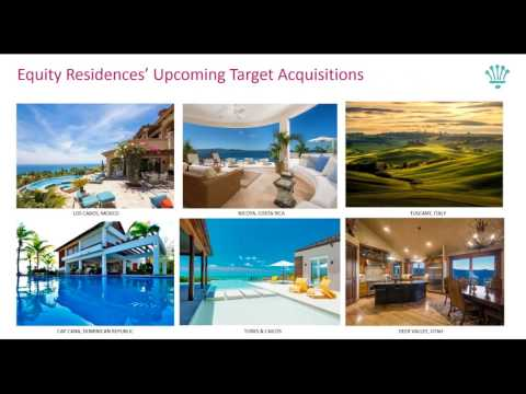 Equity Residences  2017 National Webinar