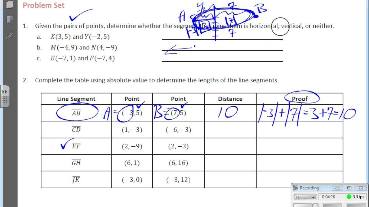 Grade 6 Module 5 Lesson 7