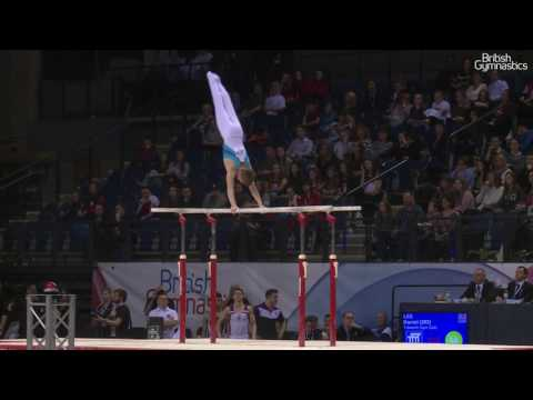 Daniel Lee Parallel Bars Men's Masters 2017 British Gymnastics Championships