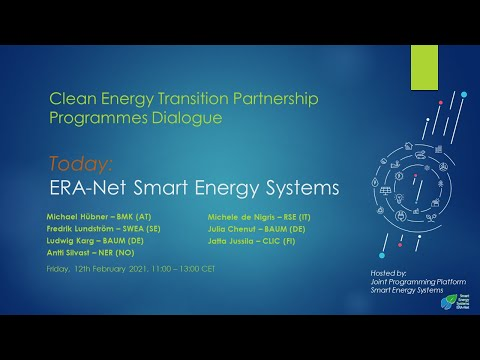 ERA-Net SES | CETP Programmes Dialogue #4