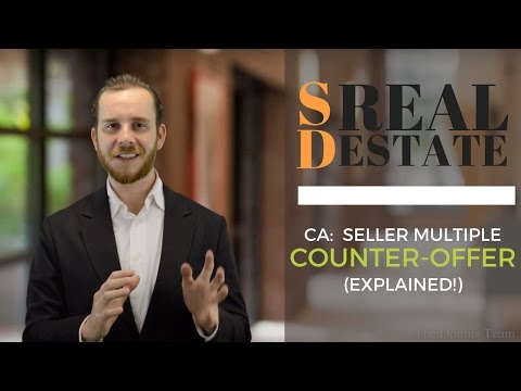 Seller Multiple Counter Offer Situation—EXPLAINED! | San Diego Real Estate | The Real Estate Jedi™