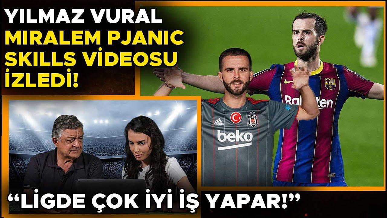 Yılmaz Vural Miralem Pjanic Skills Videosu İzledi | Beşiktaş'ta  Ne Yapar?