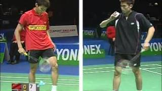 2006 yonex all england badminton championships sf day 3 5