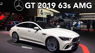 وحش مرسيدس الجديد 2019  AMG GT 63S رعب وهيبه وفخامه
