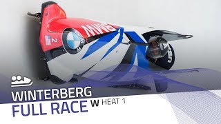 Winterberg | BMW IBSF World Cup 2018/2019 - Women's Bobsleigh Heat 1 | IBSF Official