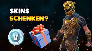 Fortnite Skins VERSCHENKEN?! (Fortnite Update)
