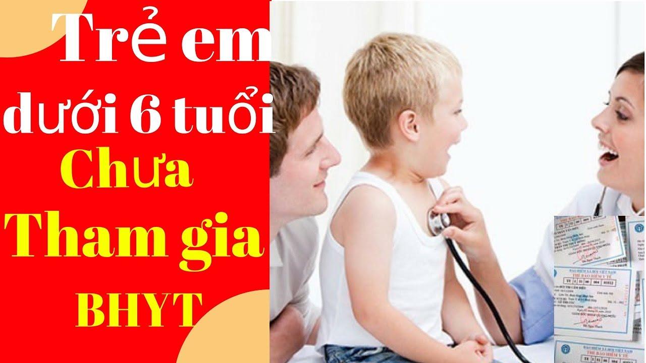 Trẻ em dưới 6 tuổi chưa có thẻ BHYT khi khám bệnh vẫn được thanh toán viện phí  #phổbiếnphápluật
