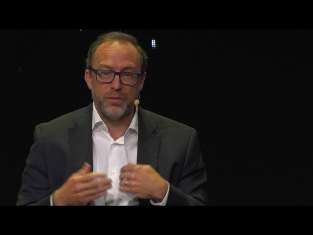Interview with Jimmy Wales, founder of Wikipedia and Wikia   DAY 1 Panel 004