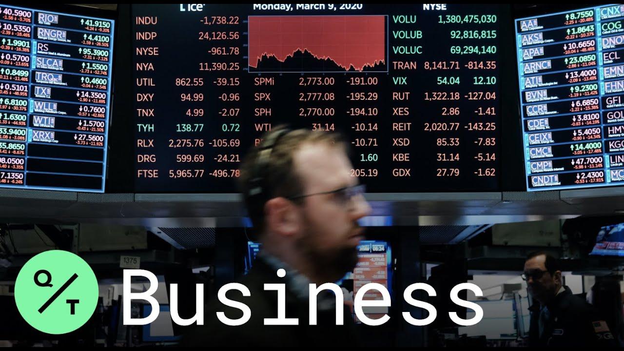 U.S. stock market suffers worst crash since 1987, as Americans ...