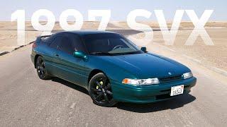 أكثر سيارة غير تقليدية ستراها في حياتك! Subaru SVX