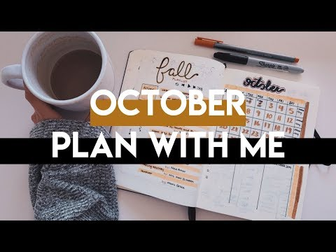 Plan With Me | OCTOBER 2019