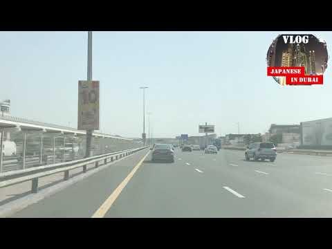 #158 Dubai DowntownからDubai Marinaまでドライブ Dubai Driving from Downtown to Dubai Marina on 2nd June 2020