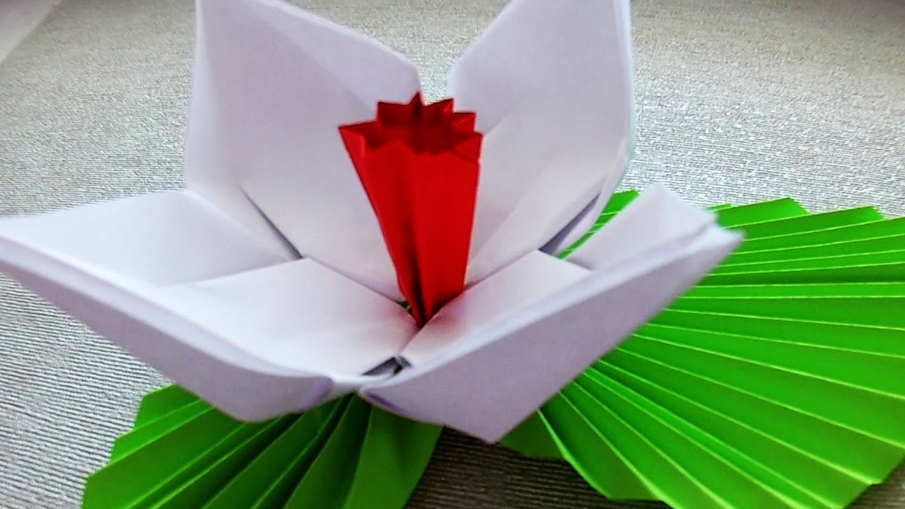 You Tude Out Of Origami Flowers For Beginners Gardening Flower