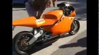 Motorcycle with an engine from a helicopter Мотоцикл с двигателем от вертолета 2(Мотоцикл Moto MTT Y2K Газотурбинный двигатель (ГТД, ТРД) — тепловой двигатель, в котором газ сжимается и нагревае..., 2014-01-07T10:41:19.000Z)