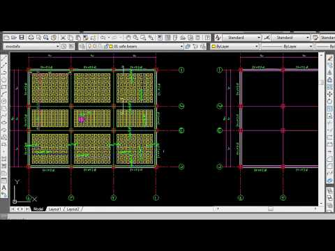 13 Design of Hollow bolck slab by manual calculation and SAFE 2
