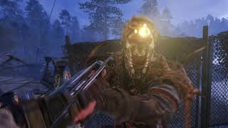 Metro Exodus - The Taiga: Attack the Pirate Camp: Crossbow Combat, Collectibles Gameplay (2019)