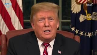 Trump defiende muro en la frontera apelando seguridad y bienestar de EE.UU.