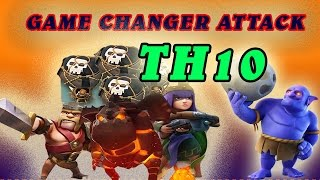 Th10 Strategy Lavaloon Bowler ! 3 Star Attack ! Clash Of Clan