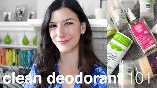 Non-toxic Deodorant 101 | Clean, Green Beauty
