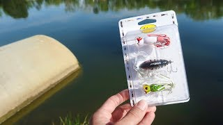 Old School WALMART Topwater Fishing Kit (HUGE BASS)