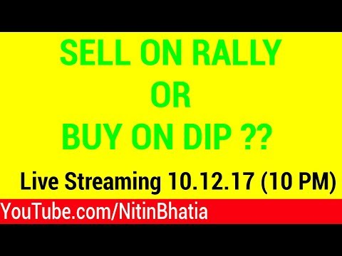 🔴 Sell on Rally or Buy on Dip in the Stock Market | YouTube LIVE Streaming and Q&A | Hindi