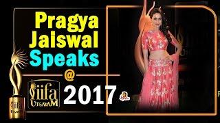 Pragya Jaiswal Speaks @ IIFA Awards Utsavam 2017 || Vanitha TV