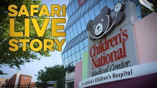 safariLIVE Offers Virtual Adventures to Children's National Medical Center Patients