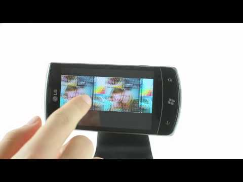 LG E900 Optimus 7 user interface